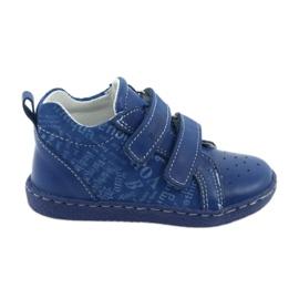 Blau Medizinische Schuhe für Kinder mit Klettverschluss Ren But 1429