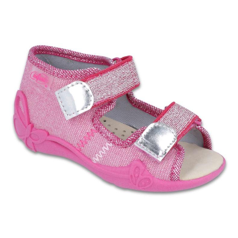 Pink Befado gelbe Kinderschuhe 342P001