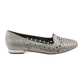 Daszyński braun Lordsy Frauen stilvolle durchbrochene Schuhe 151