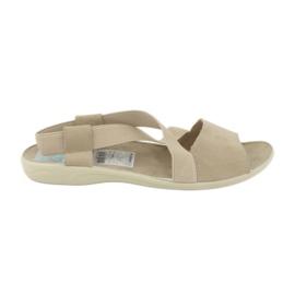 Braun Sandalen für Frauen Adanex 17495 beige
