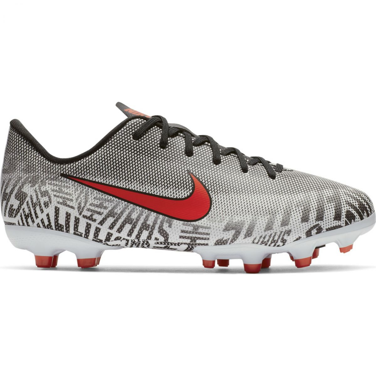 Nike Mercurial Vapor 12 Academy Fussballschuhe Neymar Fg Mg Jr Ao2896 170 Weiss Weiss