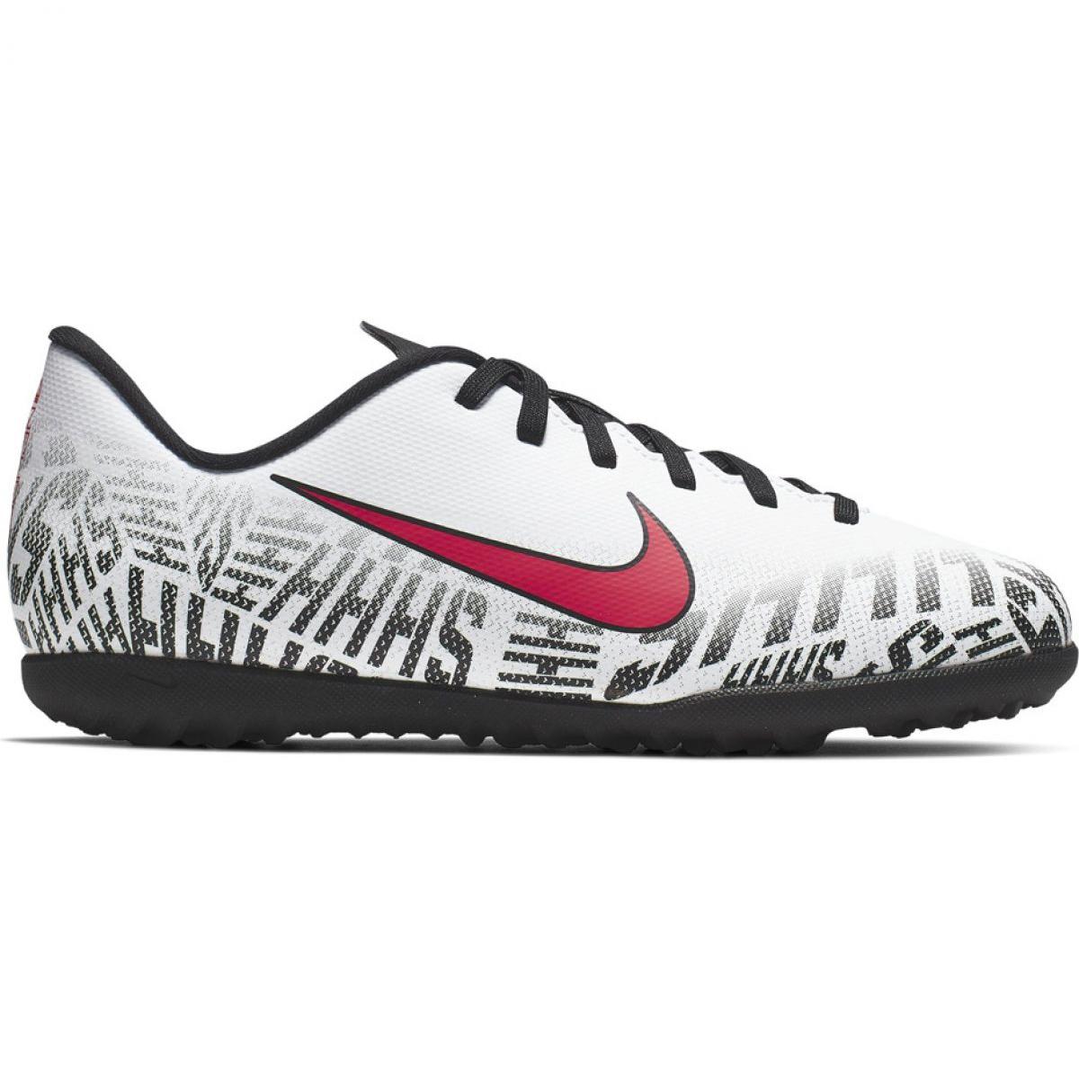Nike Mercurial Neymar Vapor 12 Club Tf Jr Av4764 170 Fussballschuhe Weiss Weiss
