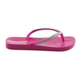 Flip Flops Silberketten Ipanema 82528 Pink