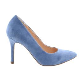Pumps auf einem Pin Damenschuhe Edeo 3313 blau