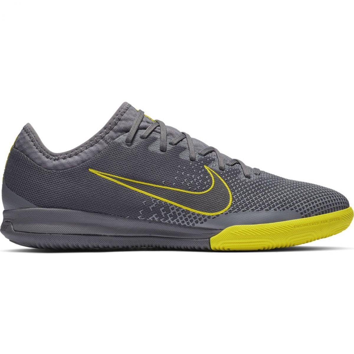 Hallenschuhe Nike Mercurial Vapor 12 Pro Ic M Ah7387 070 Grau Grau Silber