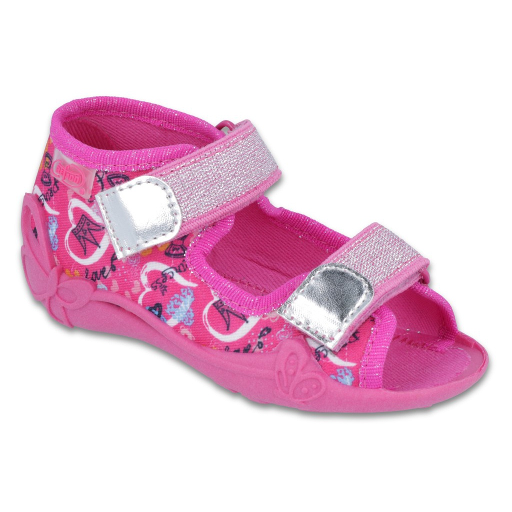 8be5763b85 Pink Befado Kinderschuhe 242P087 - ButyModne.pl
