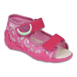Pink Befado gelbe Kinderschuhe 342P004