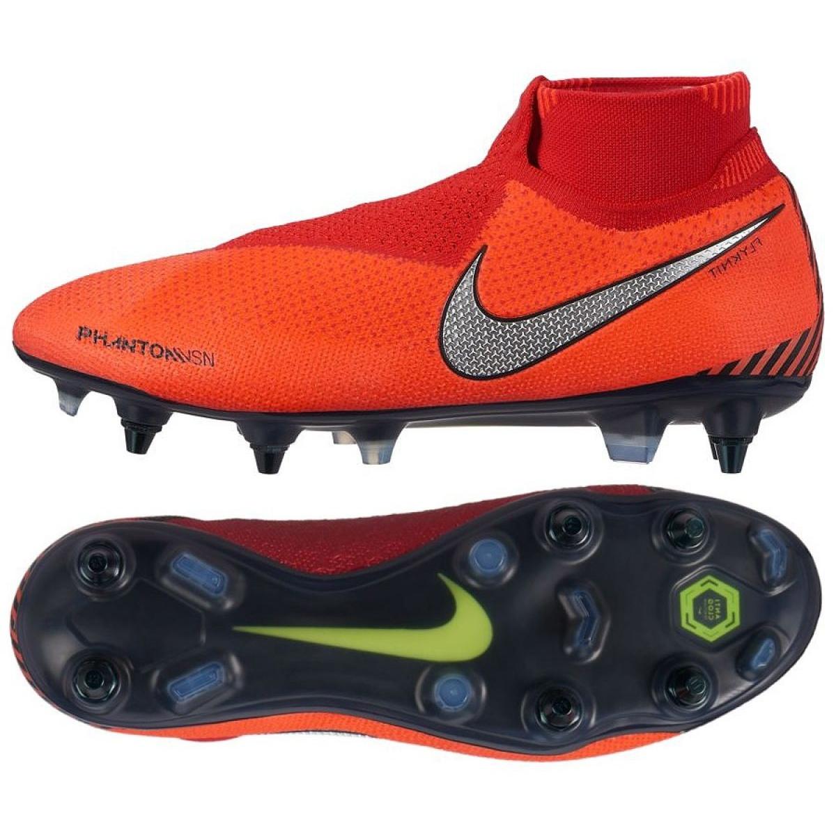 Die Nike Phantom Vsn Elite Df Sg Pro M Ao3264 600 Fussballschuhe Rot Rot