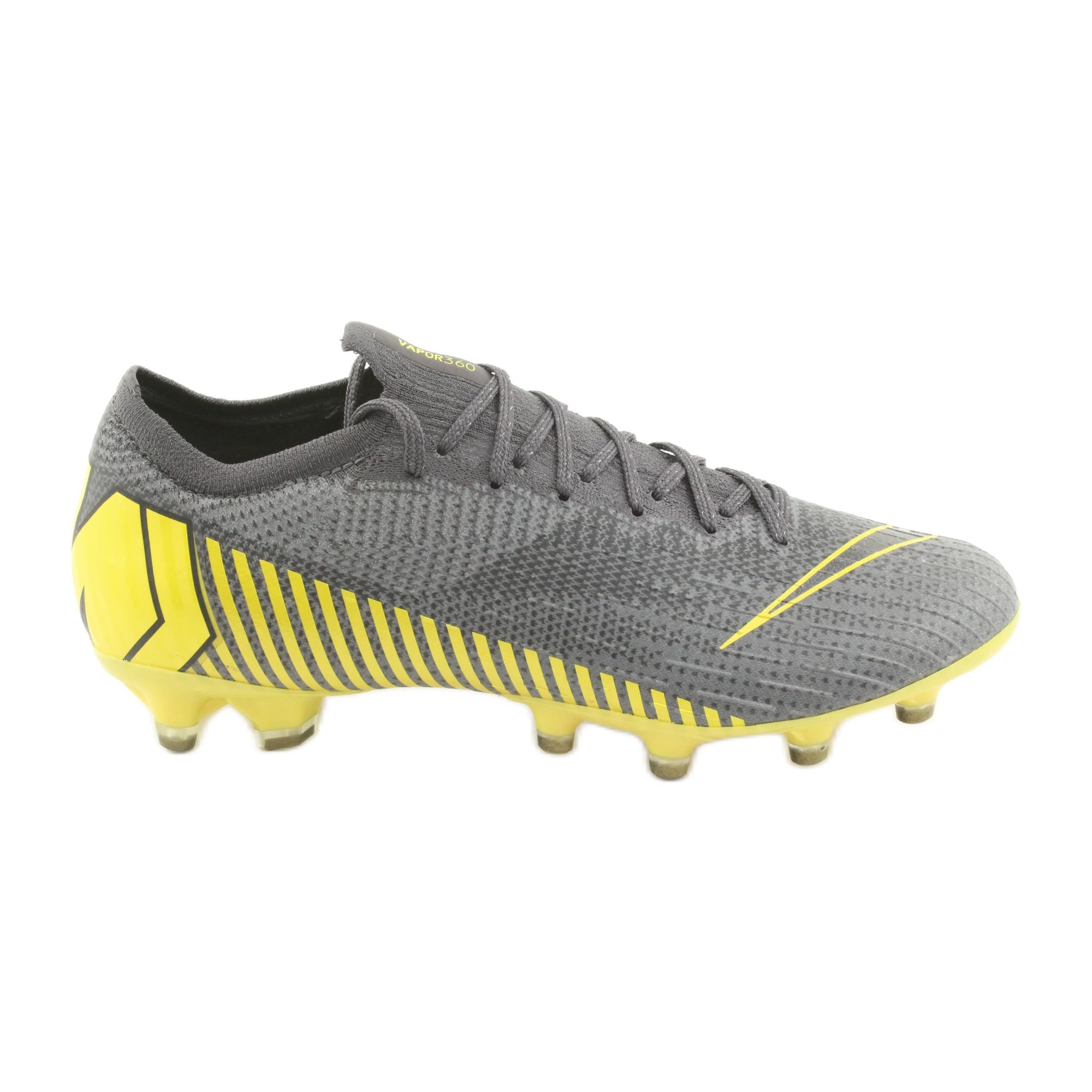 Nike Mercurial Vapor 12 Elite Ag Pro M AH7379 070 Fußballschuhe grau silber grau
