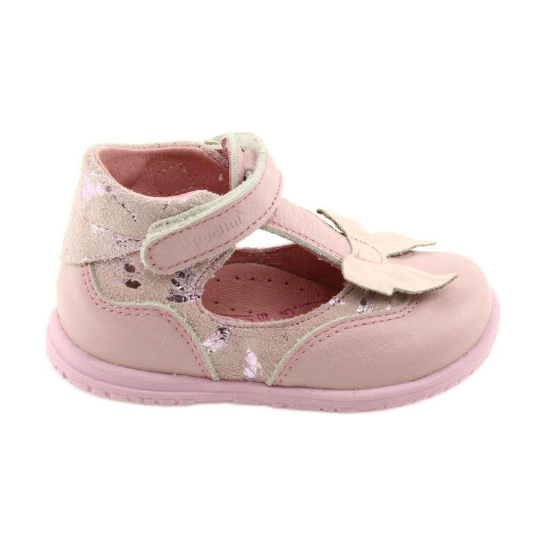 Ren But Ballerinas für Mädchen mit Schleife Ren 1466 pink
