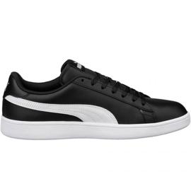 Schwarz Schuhe Puma Smash v2 LM 365215 04