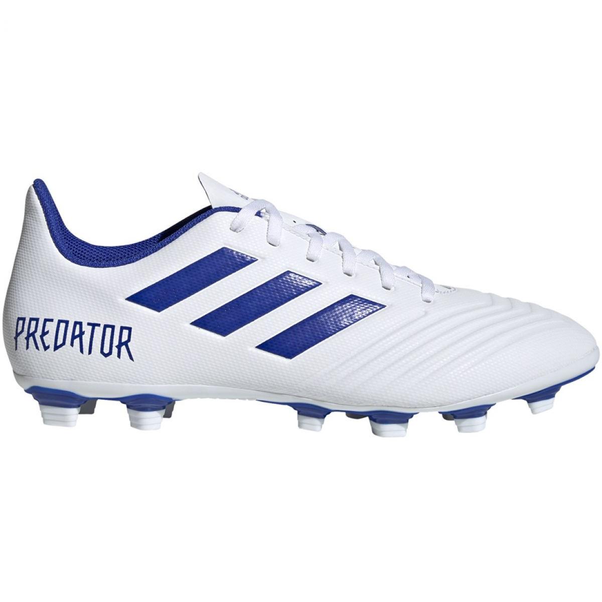 Fussballschuhe Adidas Predator 19 4 Fxg M D97959 Weiss Weiss