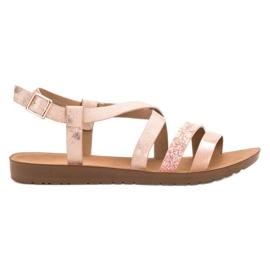 Pink Flache Schuhe VINCEZA