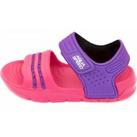 Aqua-Speed Sandalen Noli pink lila col.39