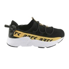 Bartek Sports Sneakers schwarz 55109 Ledereinsatz