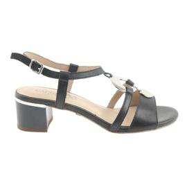 Sandalen mit Verzierung Caprice 28211 marineblau