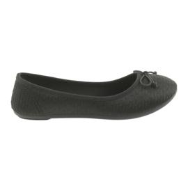McKey Sneakers Ballerinas Slip-In Schwarz
