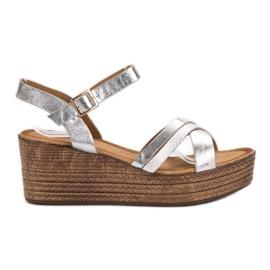 Seastar grau Leichte Sandalen auf Keil