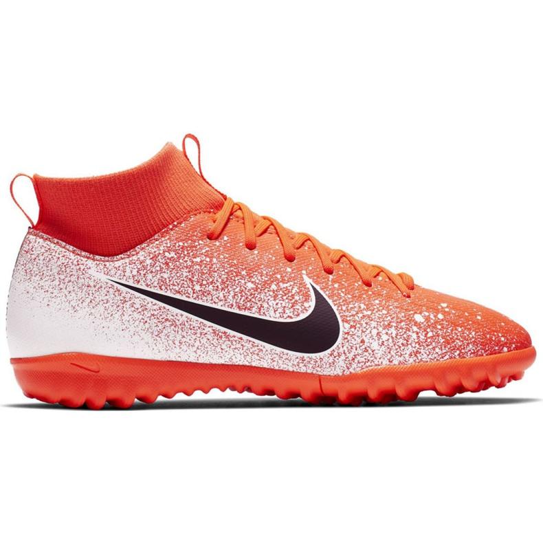 Nike Mercurial Superfly X 6 Academy Tf Jr AH7344-801 Fußballschuhe