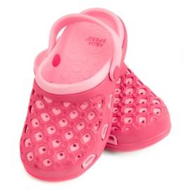 Hausschuhe AQUA-SPEED Itaka Jr 03 496 pink