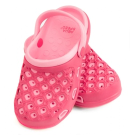 Pink Hausschuhe AQUA-SPEED Itaka Jr 03 496