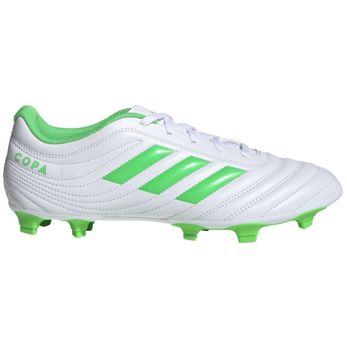 Fussballschuhe Adidas Copa 19 4 Fg M D98069 Weiss Grun Weiss