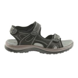 DK-Sandalen schwarz mit Klettverschluss EVA-Boden