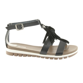 Big Star Boho Sandals 274958 schwarz