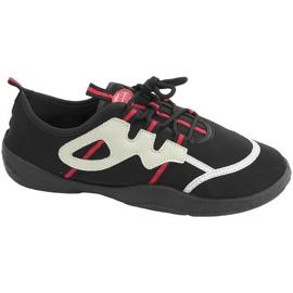 Strandschuhe Aqua-Speed schwarz grau-rot 19A