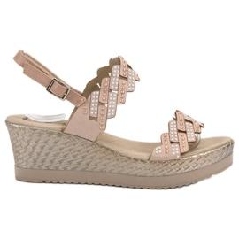 Aclys braun Leichte Sandalen in den Fersen