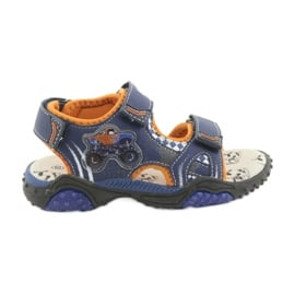 Monster Truck Sandals American Club HL18 navy