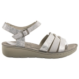 Evento grau Silberne Sandalen