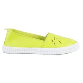 Kylie grün Slip-on-Sneaker