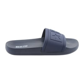 Big Star Slippers profiliert 174688 Marineblau