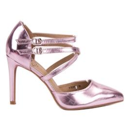 Kylie pink Glänzende Modestollen