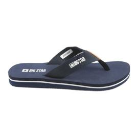 Big Star Flip-Flops marineblau