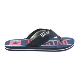 Herrengürtel Big Star 174658 marineblau