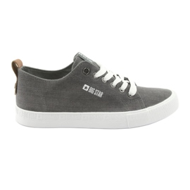 Graue Herren Turnschuhe Big Star 174165