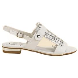Kylie Weiße Damen Sandalen