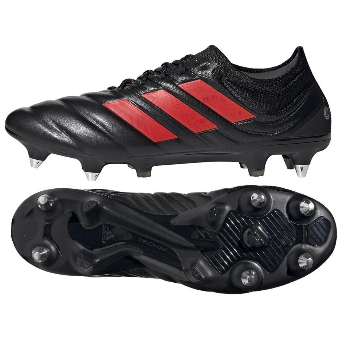 Adidas Copa 19 1 Sg M G26642 Fussballschuhe Schwarz Rot Schwarz