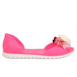 Pink Rosa Meliski-Ballerinas SE-9613 Fushia