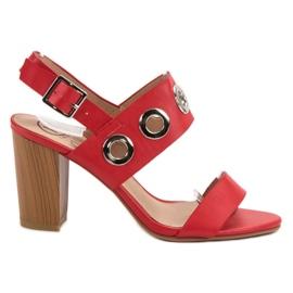 Kylie Rote High Heels
