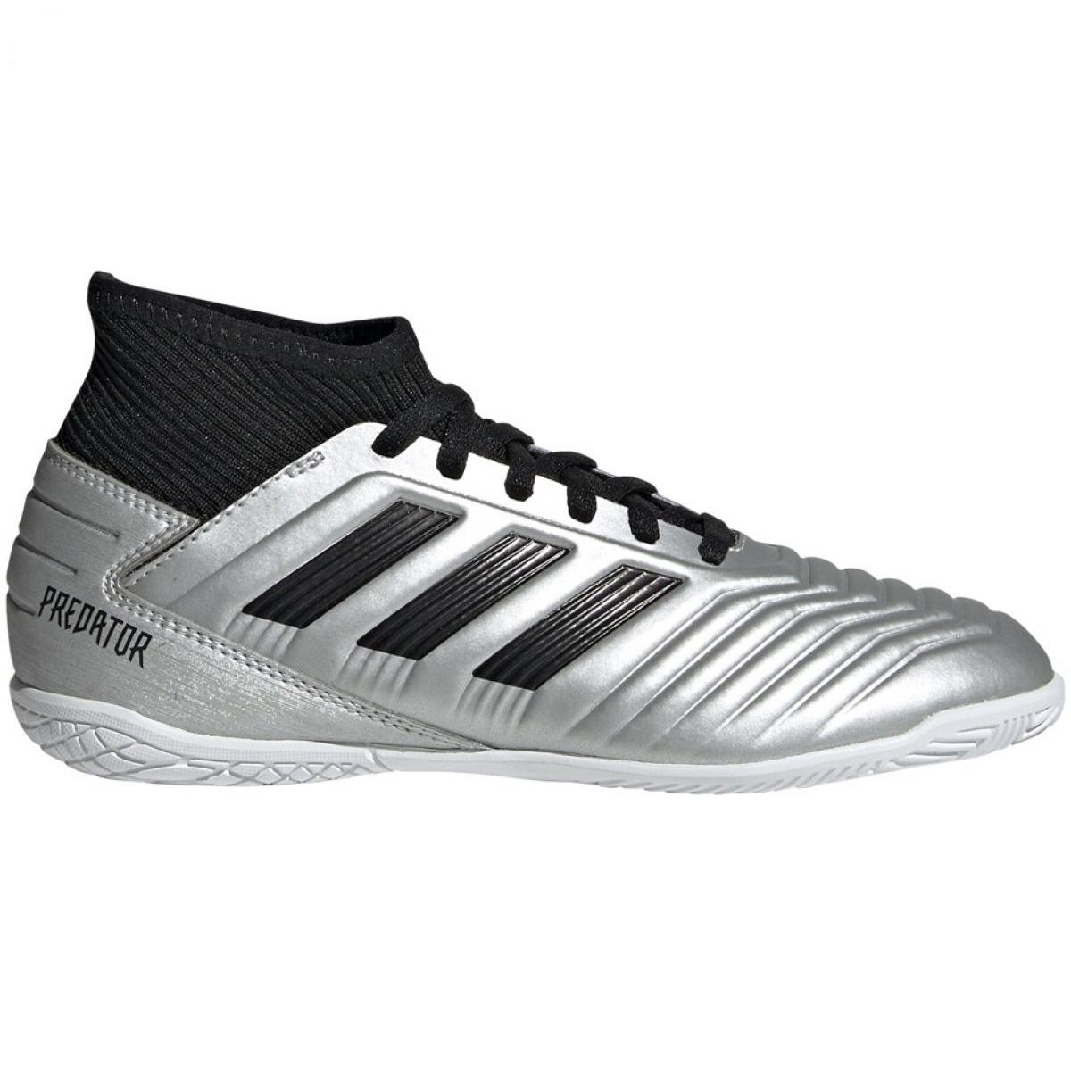 Hallenschuhe Adidas Predator 19 3 In Jr G25806 Grau Silber Silber