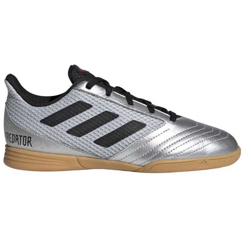 Hallenschuhe Adidas Predator 19 1 In Sala Jr G25829 Grau Silber Grau