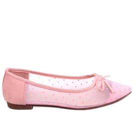 Rosa Frauen Ballerinas LT119P Pink