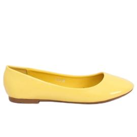 Ballerinas gelb lackiert T176 Gelb