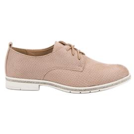 Marquiz pink Schuhe mit Zirkonen