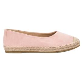 Marquiz pink Wildleder Ballerinas