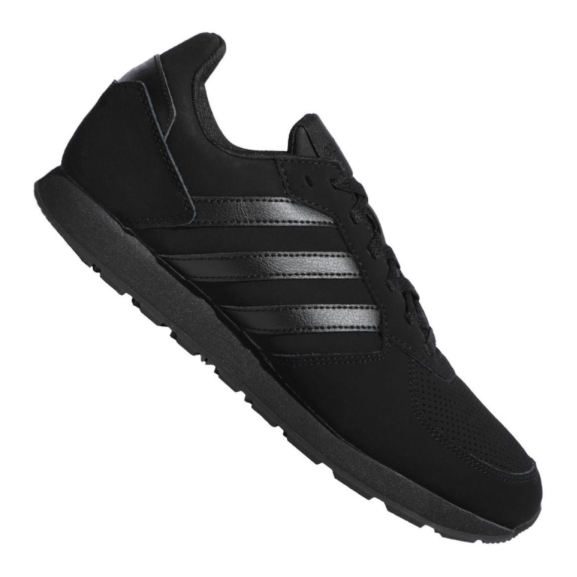 billig Schwarz Adidas 8K M F36889 Schuhe