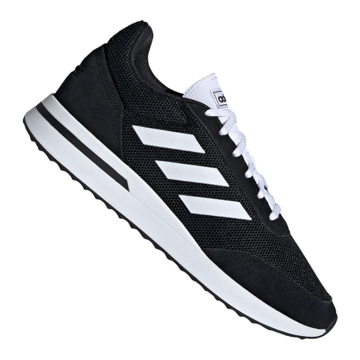 Schwarz Adidas Swift Run M B37730 Schuhe